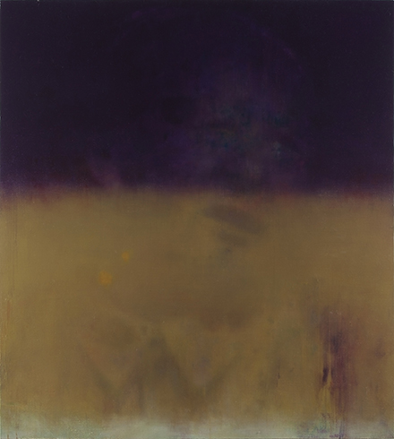 Faded Purple 200x180cm oil on canvas 2013